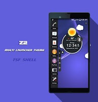 Screenshot of Z2 theme