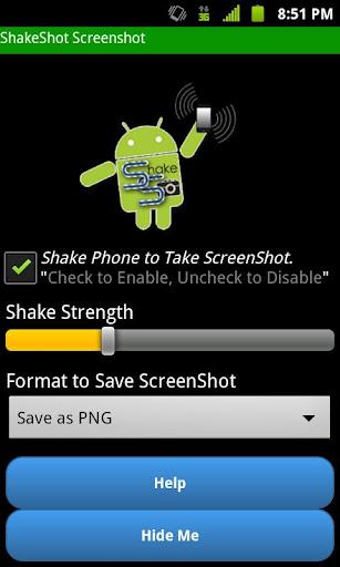 Screenshot ShakeShot Trial