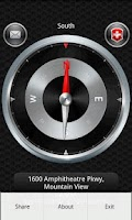 Screenshot of GPS Compass