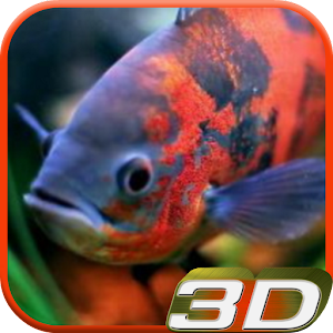 Aquarium 3D Video Wallpaper