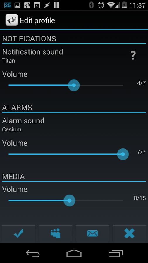 Smart Sound Profiles Screenshot 4
