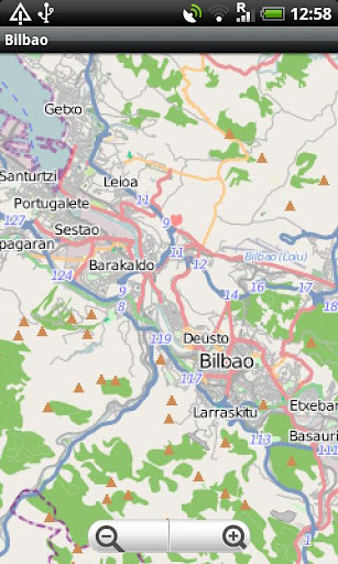 Bilbao Street Map