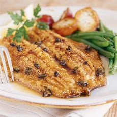 Trout with Browned Butter and Capers