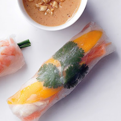 Chicken and Mango Summer Rolls
