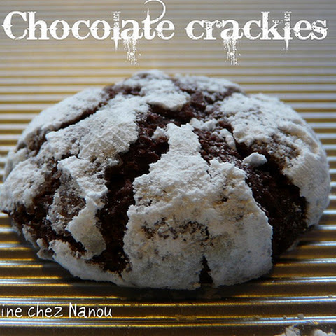 Martha Stewart's Chocolate Crakle Cookies