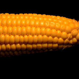 Corn by Sangeetha Selvaraj - Food & Drink Fruits & Vegetables ( food, yellow, veggie, corn,  )