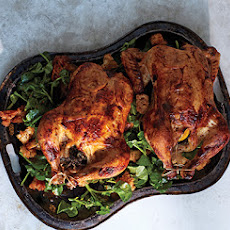 Buttermilk-Brined Chicken with Cress and Bread Salad