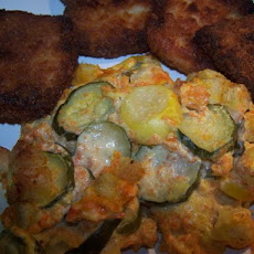 Summer Squash and Carrot Casserole