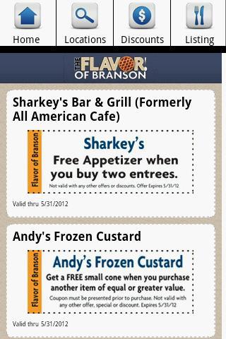 【免費商業App】Branson Restaurants-APP點子
