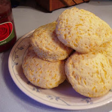 Golden Cheddar Cheese Scones