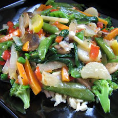 Green Vege Stir Fry