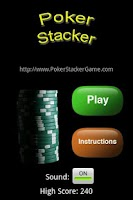 Screenshot of Poker Stacker