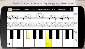 Screenshot of Act Piano