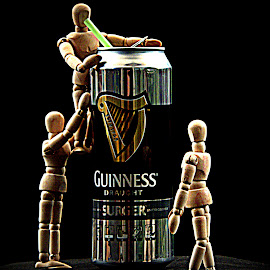 Happy St Patricks Day by Ann Seedhouse - Food & Drink Alcohol & Drinks ( beer, guinness, still life, art, drink, manakin )