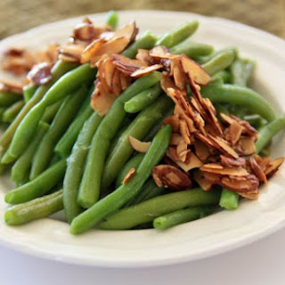 Green Beans with Almonds and Butter