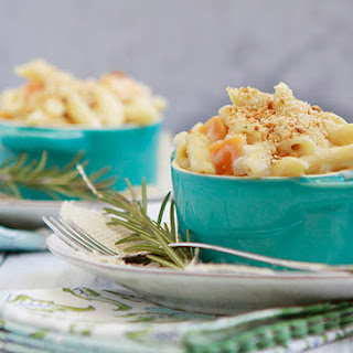 Baked Mac n Cheese with Gruyere and Butternut Squash