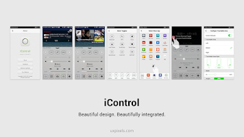 Screenshot of iControl(IOS 7 Partner)