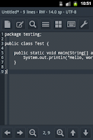 Screenshot of Easy Text Editor