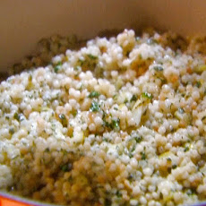 Couscous with Quick Preserved Lemon