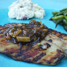 Kelleigh's Orange Ginger Soy Tilapia