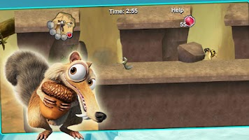 Screenshot of Ice Age - Scrat's World