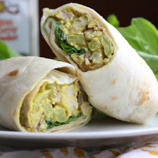 Curry Chicken Wraps