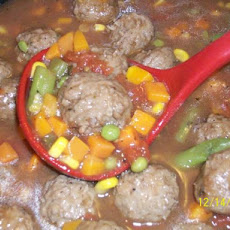 Weeknight Meatball Stew