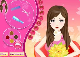 Screenshot of Bridal Hairdresser Games