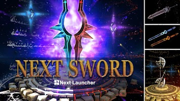 Screenshot of Next Sword 3D Live Wallpaper