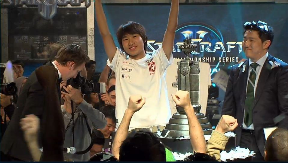 SOS beats out Jaedong to win the StarCraft II WCS World Championship