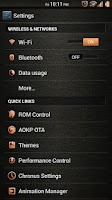 Screenshot of Leather Orange CM11/AOKP Theme
