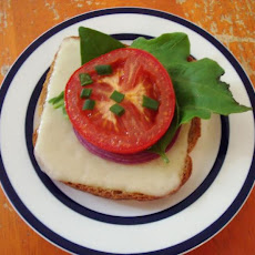 Broiled Tomato and Cheese Sandwiches
