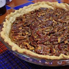 Bourbon Whisky Pecan Pie