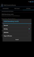 Screenshot of RAM Control eXtreme Pro