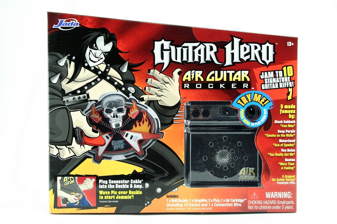 Guitar Hero Air Guitar Rocker