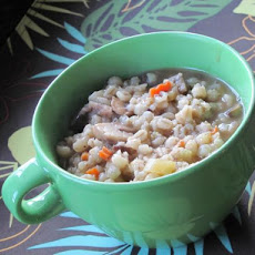 Mushroom and Barley Soup (Crock Pot)