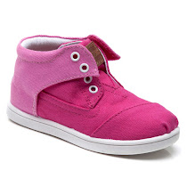 Toms Pink Colour Block Botas CANVAS