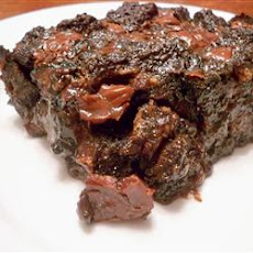 Double Chocolate and Spice Bread Pudding