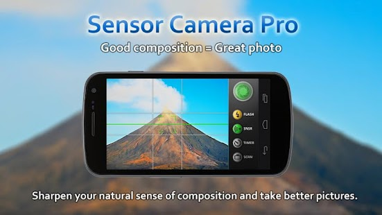 Sensor Camera Pro - screenshot