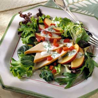 Turkey and Nectarine Salad