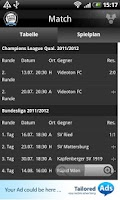 Screenshot of SK Sturm Graz
