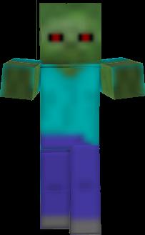 128x128 pixel zombie