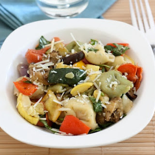 Tortellini Salad with Roasted Vegetables
