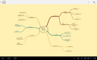 Screenshot of MindBoard Free (mind mapping)