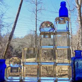 Porch Art - Light Catchers by Jean Miller - Artistic Objects Glass