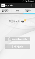 Screenshot of NOS wi-fi