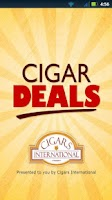 Screenshot of Cigar Deals