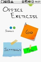 Screenshot of Office Exercise Pro