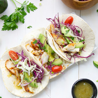 Blackened Fish Tacos with Cabbage Slaw
