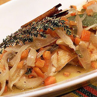 Rick's Seared Fish in Escabeche